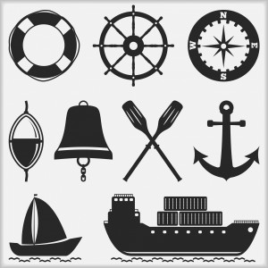 6493560-nautical-icons